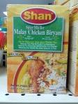 Malay Chicken Biryana